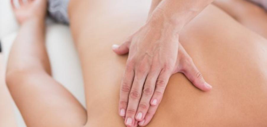 Massage aux homoplates